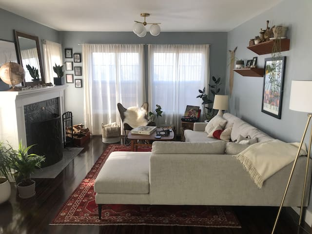 Clean room with easy access to explore Portland!