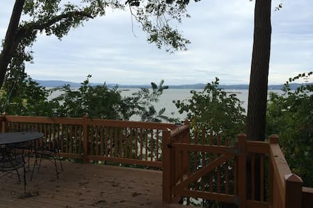 quirky little house on the hudson - Haverstraw - Huis