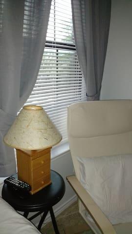 Full private bedroom