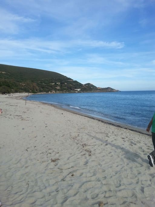 La spiaggia. ...