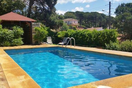 Rustic villa near LLoret private pool