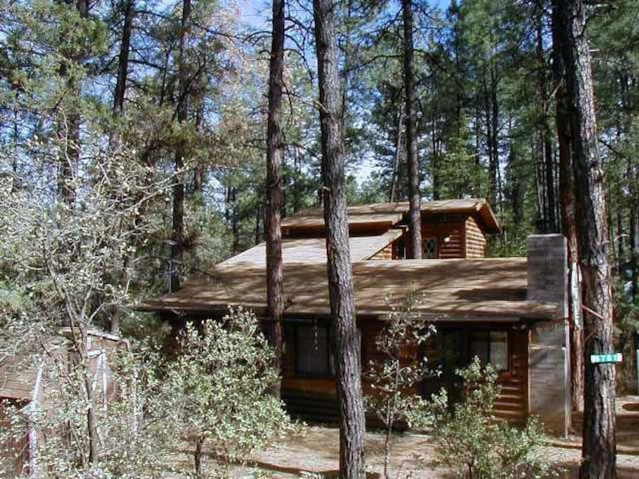 Log Cabin Getaway With Jacuzzi Cottages For Rent In Pine