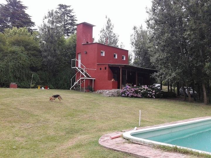 Hermosa casa de campo en Vertientes de la Granja