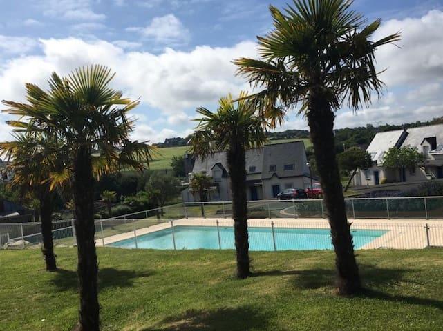 Maison avec piscine - Golf de Pleneuf-Val-André