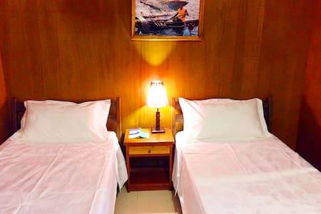 Palau Island Garden Hotel 帕勞海島花園酒店 日式雙床 Twin bed - Koror - Bed & Breakfast