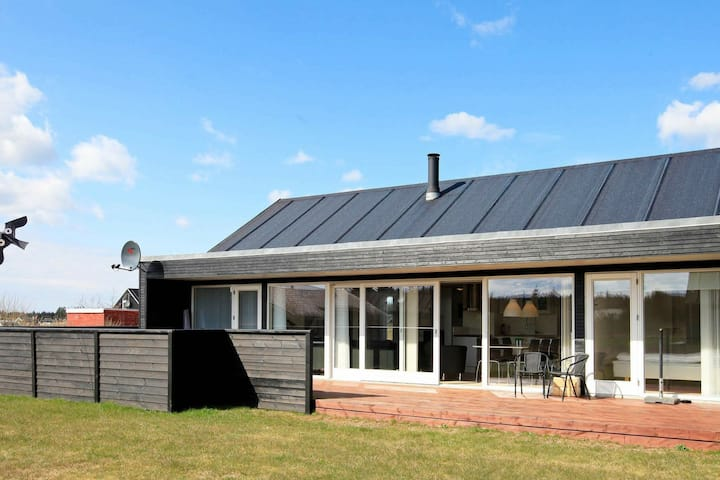 Modern Holiday Home in Brovst Jutland with Spa