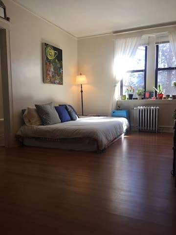 Comfy airbed in cool + sunny apt - Philadelphia - Appartement