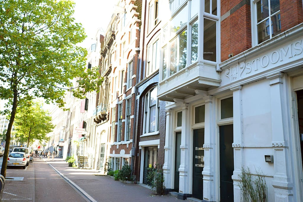 Amazing 2p luxurious city apartment with balcony for Appartamenti amsterdam centro
