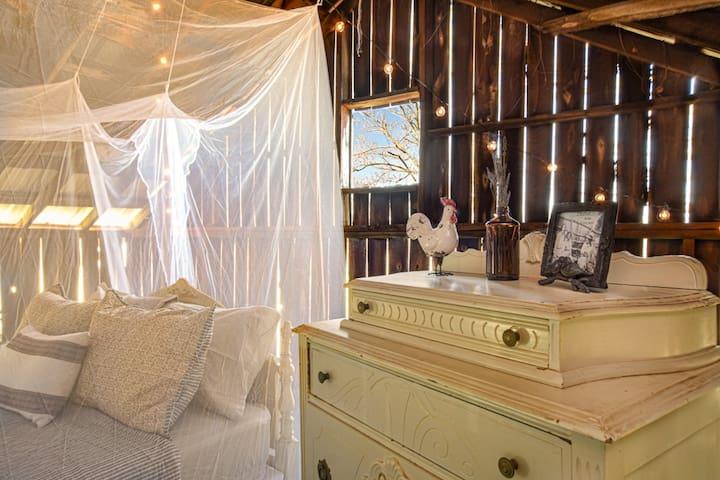 The Barn Loft @ The Tiny House Farm
