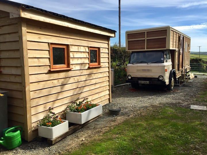 """Sea the Stars"" vintage horse lorry conversion"