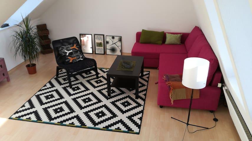 Zimmer mit Ausblick - Bad Bevensen - Apartment