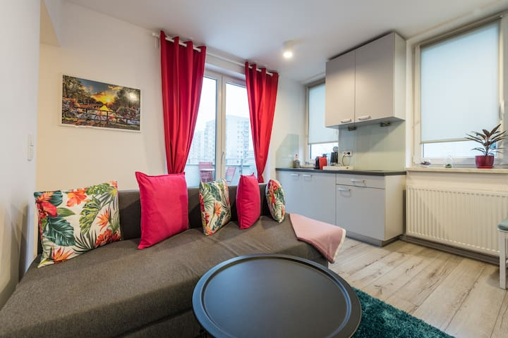 Apartament z tarasem