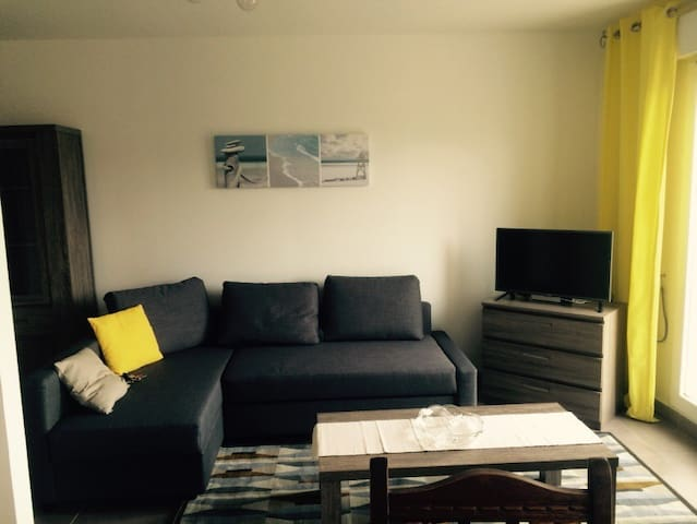New flat, near golf, CHU, Memorial - caen - Daire