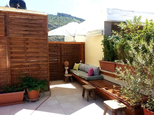 Rooftop studio in Nafplio, Greece - Navplion - Apartament