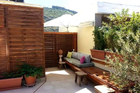 Rooftop studio in Nafplio, Greece - Wohnung