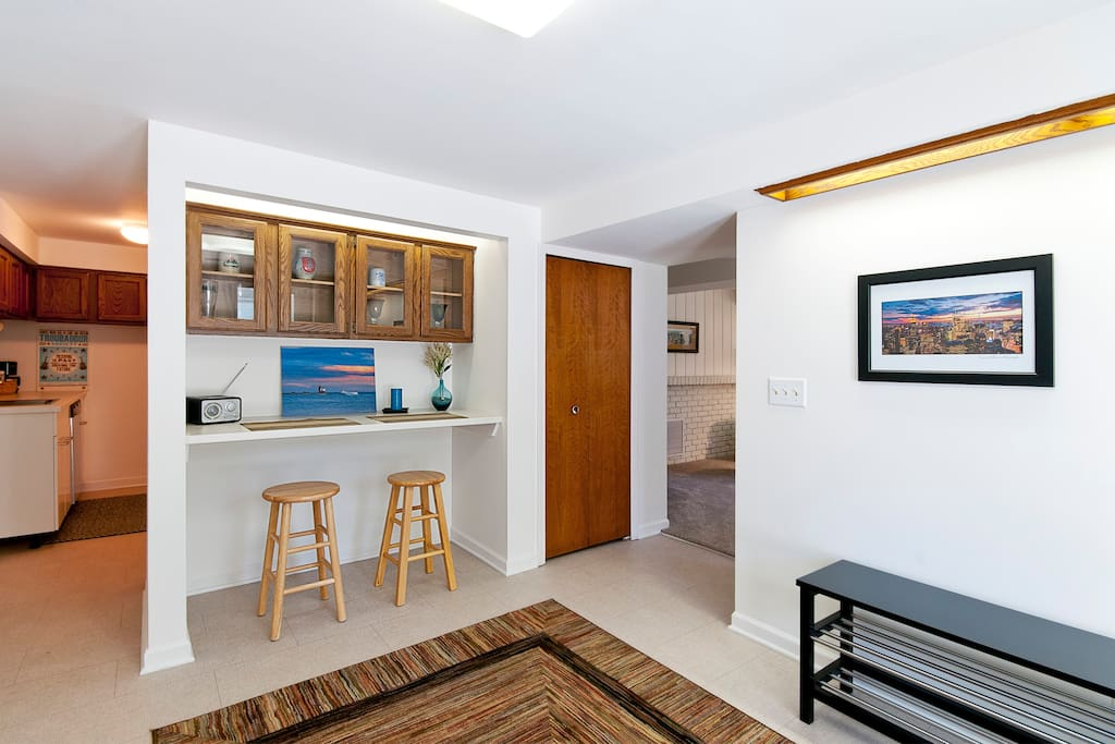 Over 700 sq. Feet of space.