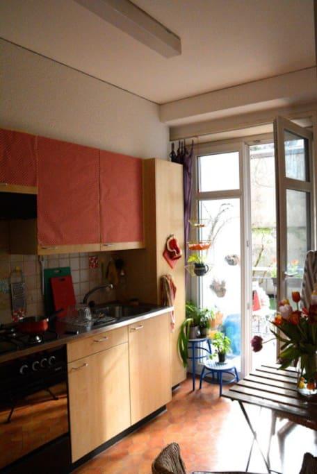 Die Retro-Küche