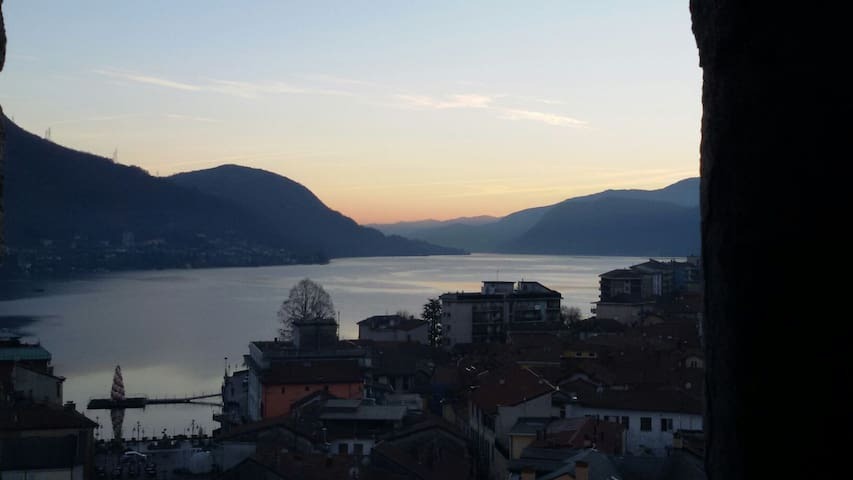 Flat 1,  lake Orta  view  in Omegna - Omegna - Pis