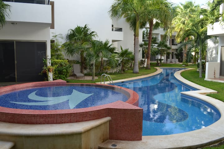 Beautiful Room in PlayaCar - Playa del Carmen - Apartament