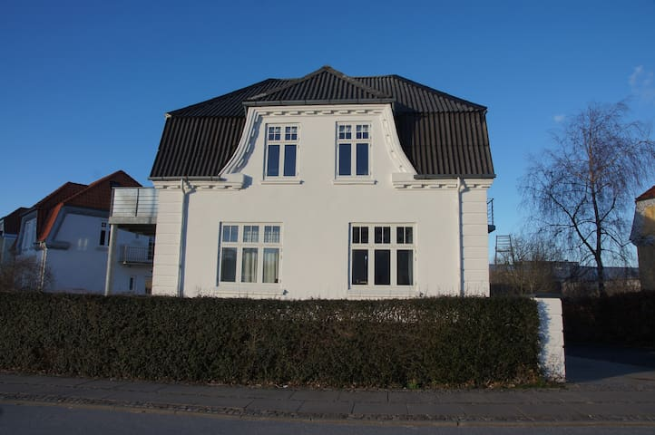 Private apartment in historic house in the center - Aalborg - Apartament
