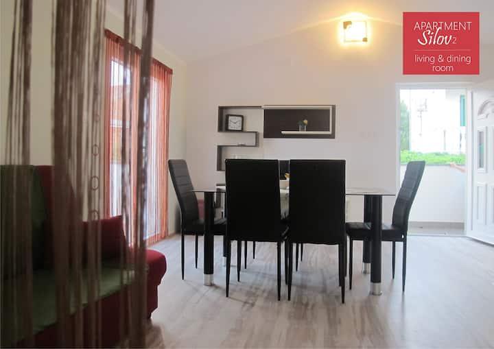 Silov apartment 2+2 Žaborić seaview