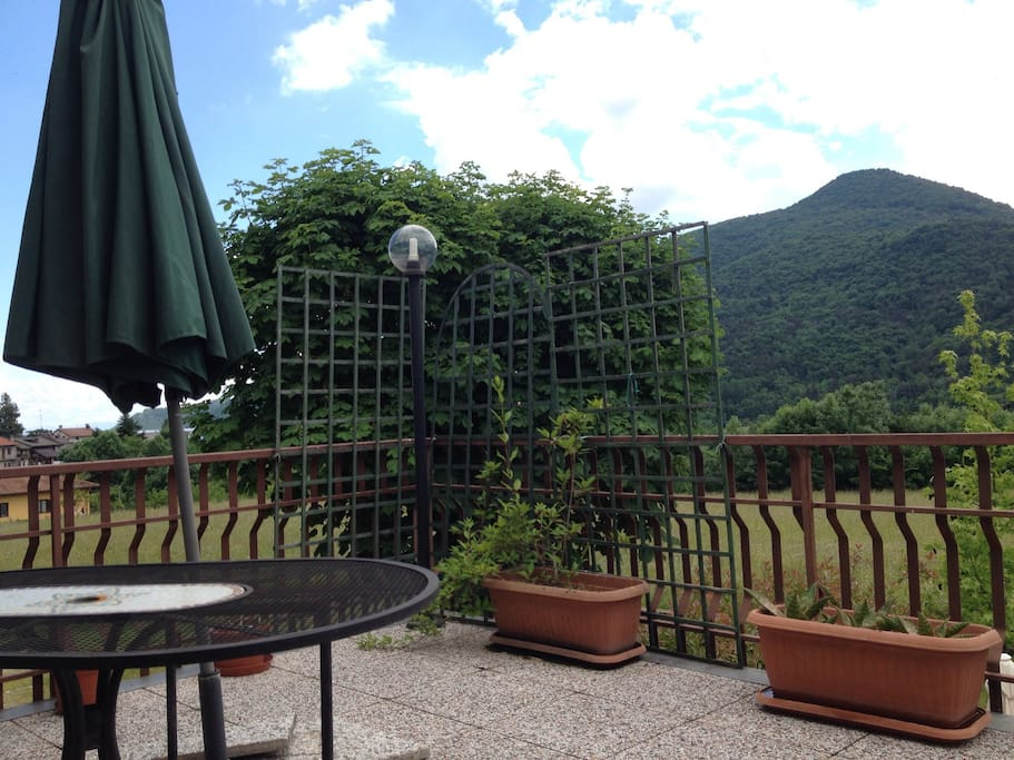 Big terrace, ampio terrazzo