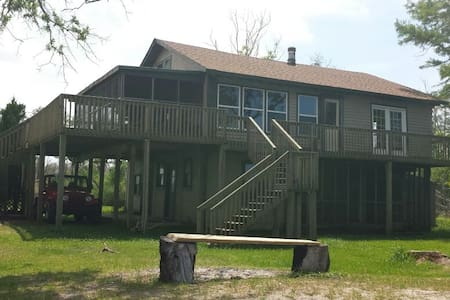 Cabin in the woods at the beach - Manns Harbor - Casa