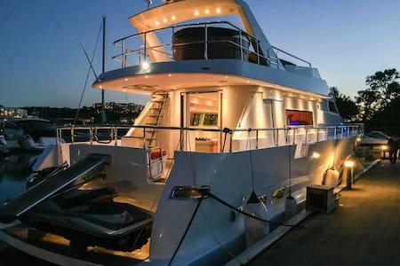 VIP cabin on a Luxurious Yacht near City center