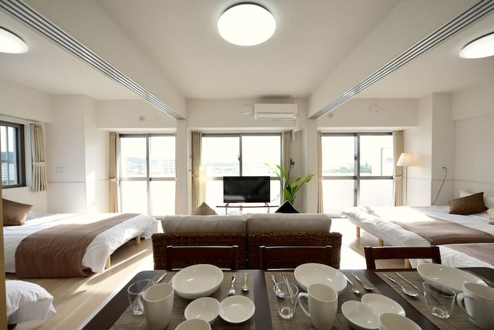 Newly Built ♪Convenient Area♪Spacious for 8 People