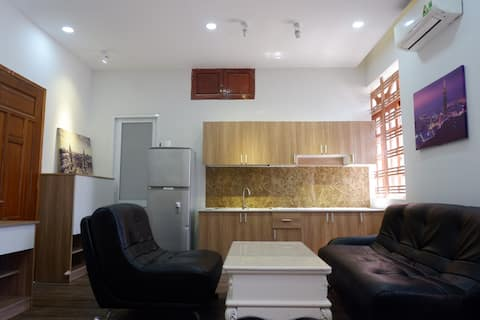 A budget and private apartment in Binh Thanh