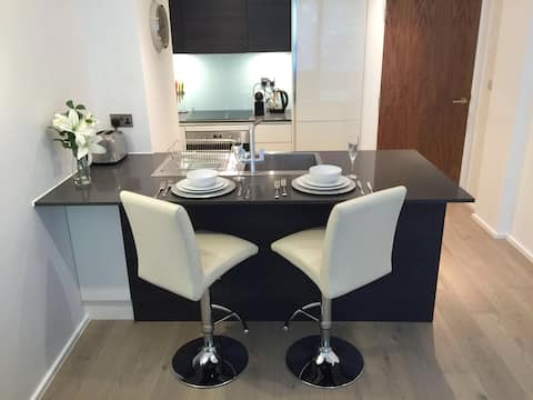 **Luxury One Bed** with private parking