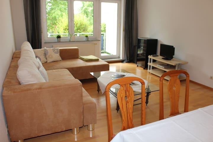 Geräumige Wohnung, zentral gelegen, dennoch ruhig - Speyer - Apto. en complejo residencial