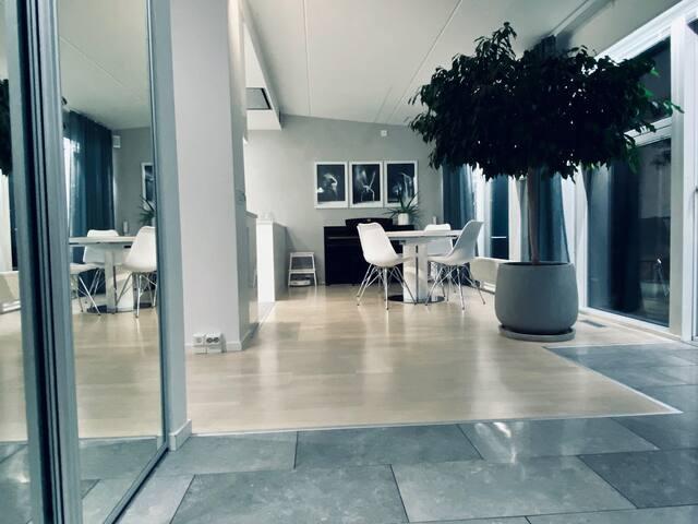 Newly renovated penthouse (70 sqm+15 sqm balcony)