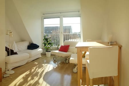 Sunny Maisonette Apartment in the Center - Bayreuth