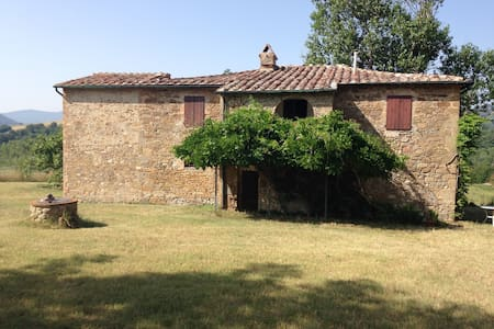 Podere Casotto -  beautiful old farm in Tuscany - Monteguidi - House