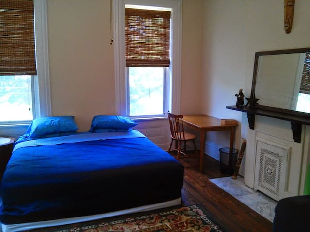 King Bed in Lrg Private room w/Bth - Saint Louis - House