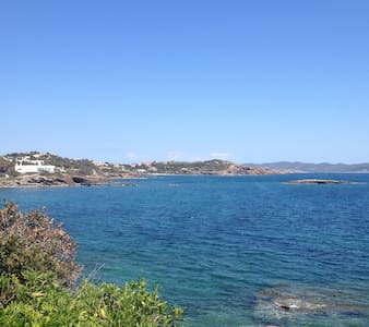 Elegant maisonette on the beach - Sounio - Appartement