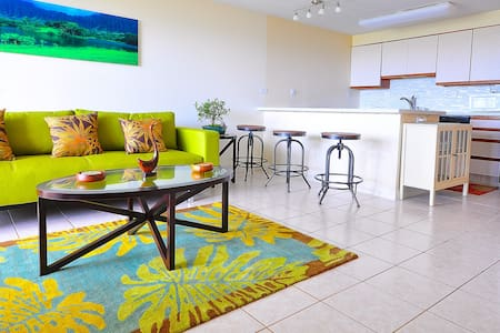 Scenic Beachfront Condo Sleeps 4 - Hauula