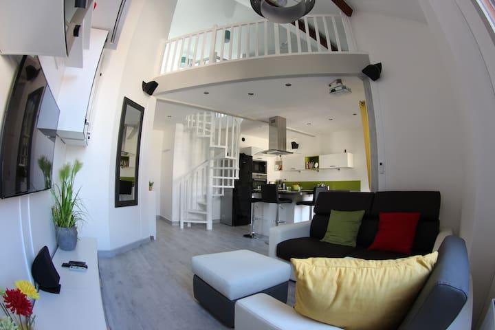Loft en duplex à 20km de Paris - Sainte-Geneviève-des-Bois