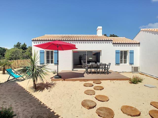 Maison de vacances au bord de l'eau !