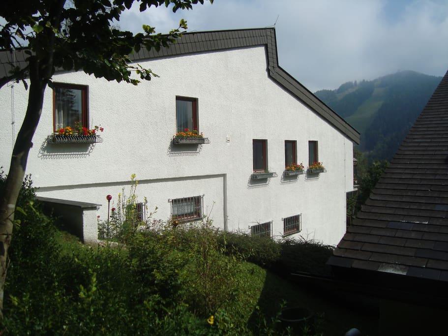 Semmering Villa Sonnenschein - Hirschenkogelblick