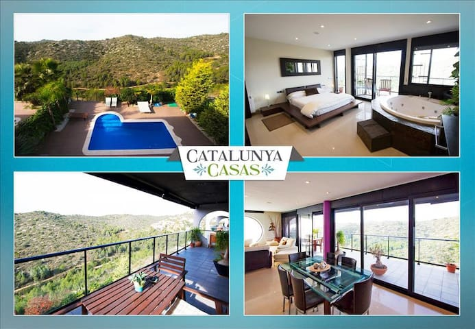 Modern villa in Calafell for 8 guests, only 4km to the beaches of Costa Dorada! - Costa Dorada - Villa