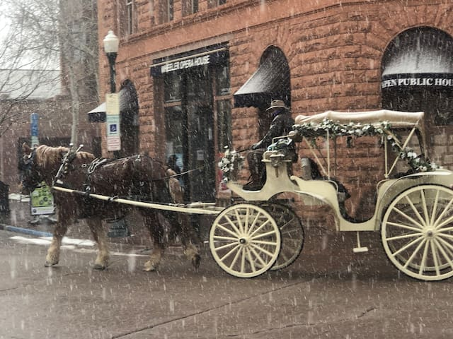 Take a Carriage ride in Aspen