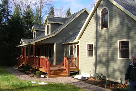 Fun home-4 miles from downtown - Lake Placid
