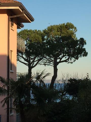 Vista dal Balcone della Camera e Soggiorno Lake view from Bedroom balcony and living room