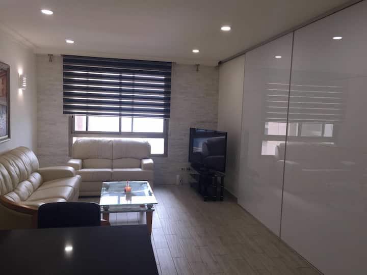 Gorgeous 2 room apt right on the beach Haifa