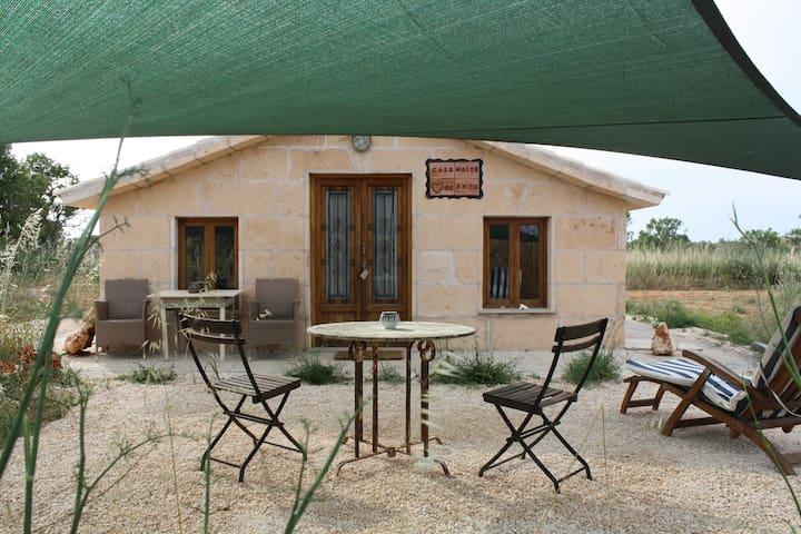 romantic guest cottage  EsTrenc  - Ses Salines - Dom