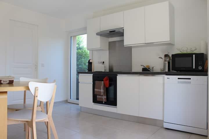 Appartement Lou jas au cœur du Golfe de St-Tropez.