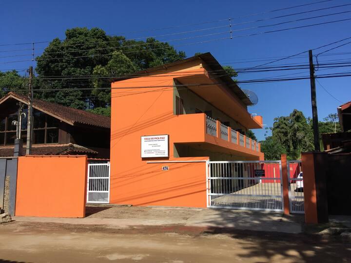 Toca do Pica Pau, apartamentos com cozinha!