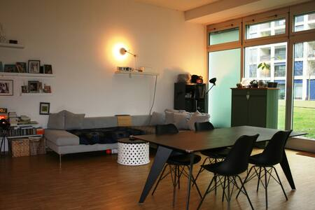 Urban Modern 100 sq. m loft in Zurich Oerlikon
